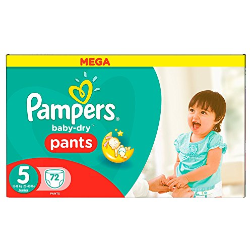 Pampers Baby Dry Nappies Pants - Large