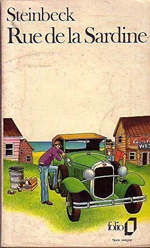 STEINBECK - RUE DE LA SARDINE - FOLIO 1974 - TRADUCTION MAGDELEINE PAZ par John Steinbeck