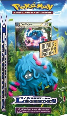 Asmodee - POLL01 - Jeu de cartes à jouer et à collectionner - Pokémon - Starter l'Appel des Légendes HGSS 5 - Reconnaissance - Carte Rare Bouldeneu
