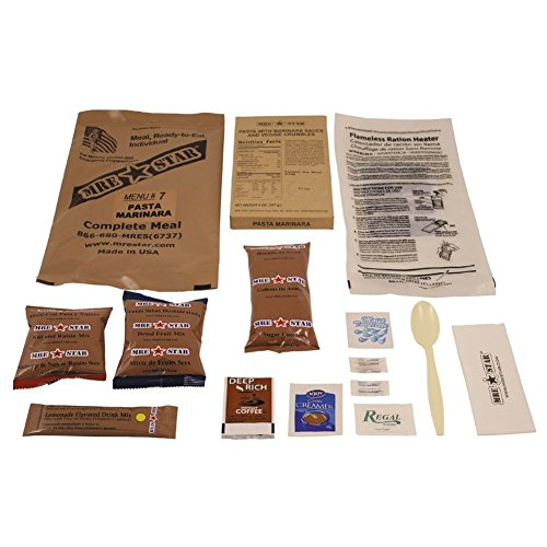 "Original US Army Food MRE Ready-to-Eat BW Notration Menü:7 ""Pasta w.Marinara S."""