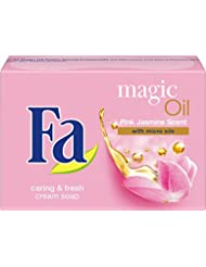 Fa Magic Oil Festseife, Duft des Pinken Jasmin, 6er Pack (6 x 100 g)