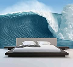 Idea Regalo - Wall Murals (Onde) - Peel and Stick - Vinile autoadesivo - Home Decor Fai da te