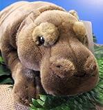 liegendes Nilpferd ca. 41 cm Plüschtier Flußpferd Plüsch Stofftier Kuscheltier Tier Hippo