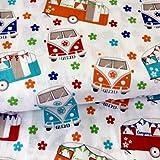 Camper–Camper Vans de tela–vis11–por 0,5m 50cm x 110cm)–por VISAGE–100% algodón