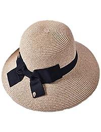 Y-XM Ajustable Sombrero de Copa con Nudo de Proa Decoración Respirable Cuenca  Sombreros Anti 6822c7ccf11
