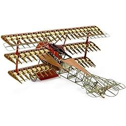 Maqueta en madera: Fokker Dr.I El Avión del Barón Rojo