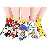 Disney Sneakers Women's Socks 7 pairs Made in Korea - Rough