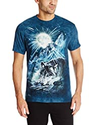 The Mountain Unisexe Adulte Loup Nuit Symphony T Shirt