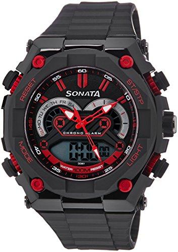 51tSOaYZx7L - Sonata 77030PP01J Ocean Series 3 Multi Color watch