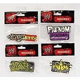 Groovy Official WWE Product - Set of 4 Fridge Magnets - Cena - Orton - Undertaker - Batista