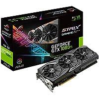ASUS NVIDIA GeForce GTX 1080TI ROG Strix Edition 11 GB GDDR5X PCI Express 3 Graphics Card - Black
