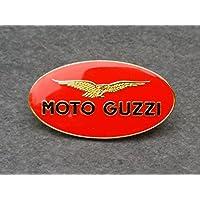 Moto Guzzi Pin ca. 33 x 18 mm V2 Motor V7 V11 Le Mans Italien Italia