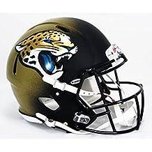 Riddell - Réplica de casco de fútbol americano, diseño de los Jacksonville Jaguars