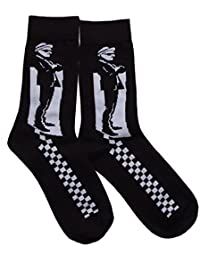 Guerrier Homme Mod Ska Socksteady Chaussettes Skinhead De Scooter Pack 2 Paires