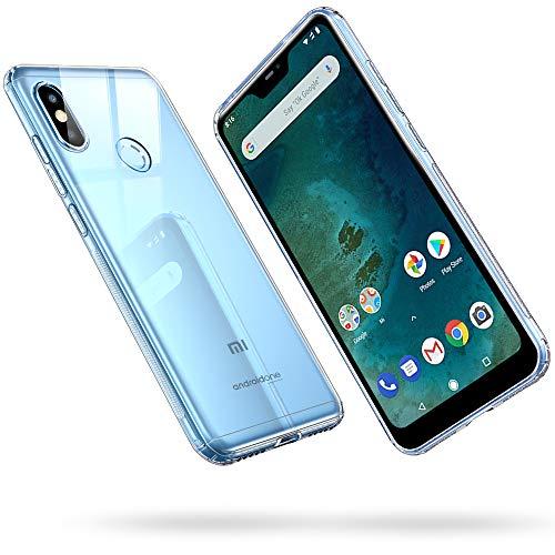 ESR Funda para Xiaomi Mi A2 Lite, Funda para Suave TPU Gel Ultra Fina Protección a Bordes y Cámara Compatible con Enjaca para Xiaomi Mi A2 Lite-Transparente