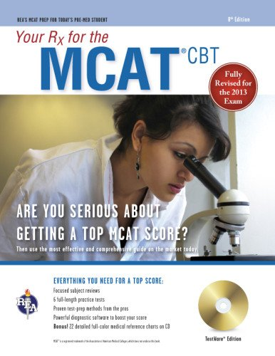 MCAT (Medical College Admission Test) with CD: Your RX for the (MCAT Test Preparation)