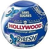 Hollywood 2Fresh menthe fraiche menthe forte sans sucres 40 dragees 88g Envoi Rapide Et Soignée ( Prix Par Unité )