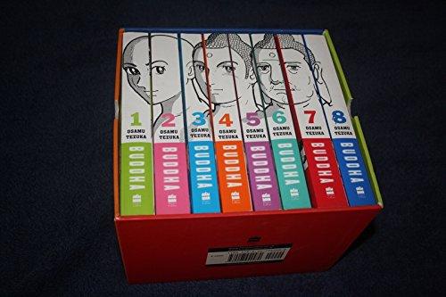BUDDHA (Box Set) Volumes 1 - 8 by OSAMU TEZUKA, published by Harper Collins Publishers INDIA Ltd. 2014
