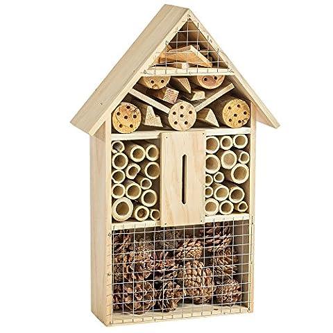 Maison Coccinelle - TecTake XXL Hôtel boîte à insectes 48