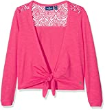 TOM TAILOR Kids Mädchen Sweatshirt Sweat Bolero, Rot (Vivid Berry 5561), 152
