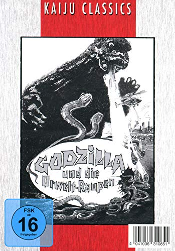 Godzilla und die Urweltraupen - 2-Disc-Edition