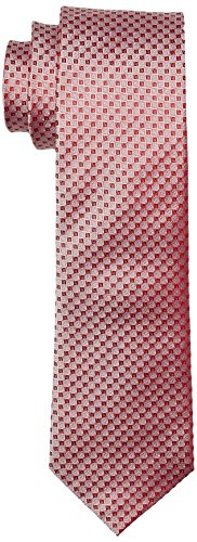 OTTO KERN Herren Krawatte, 10000 / 21206 Rot (Rot 520)