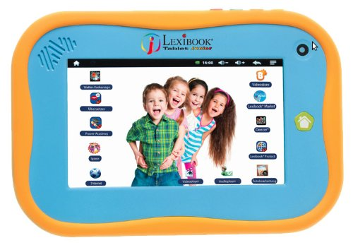 Lexibook Tablet Junior MFC270DE 17,8 cm (7 Zoll) Tablet-PC (Rockchip, 1GB RAM, 4GB HDD, WiFi, Android OS) orange