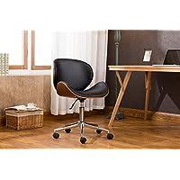 Porthos Home Sedona Adjustable Office Chair , Black