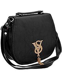 BFC- Buy For Change Fancy Stylish Elegant Women's Cross Body Black Sling Bag