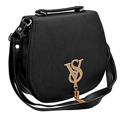 BFC- Buy for change Fancy Stylish Elegant Women's Cross Body Black Sling...