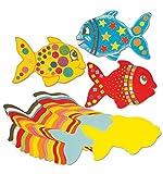 SPRINGBOARD 10316Jumbo Papier Fisch