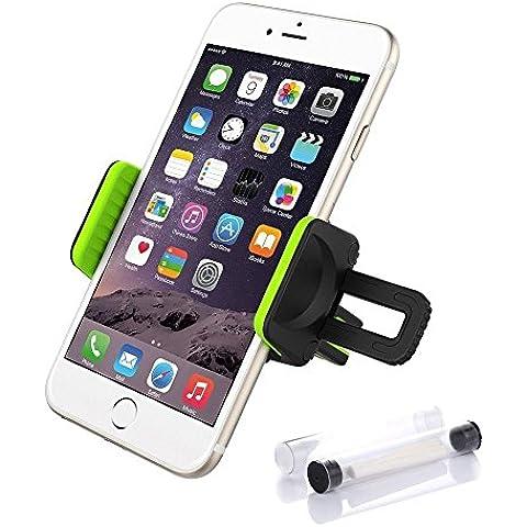 Keynice Titular Monte coche con el sistema de perfume, 2 en 1, salida de aire del coche de la horquilla del montaje para el iPhone 6 más 6 6s 5s 5c 4s 4 y otros teléfonos