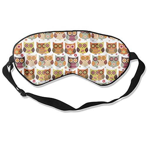Eyes Wide Open Owl Breathable Eye Shade Patch Sleeping Eye Mask Cover For Men Women Kids White - Wide-hot-plug