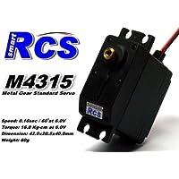 Price comparsion for 2x RCS Model M4315 RC Metal Gear High Torque R/C Hobby Standard Servo CA133