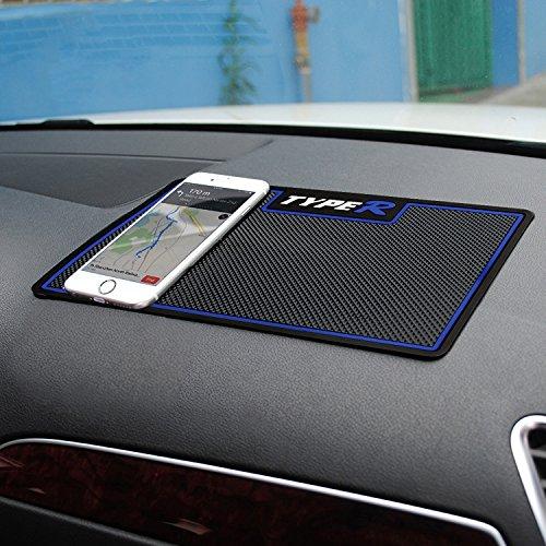 Sportlove Auto Anti-Rutsch-Matte, klebrig Pad abwaschbar Armaturenbrett Antirutschmatte für Sonstiges Ausrüstung, Wie Handys, Schlüssel, Brille- Blau