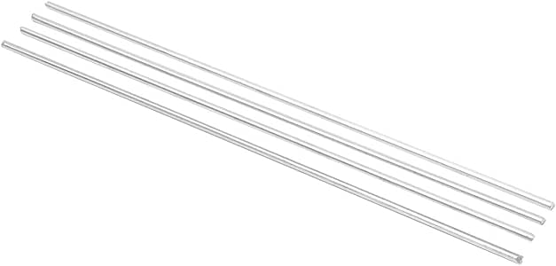 4pcs 225x3mm Aluminium Low Temperature Welding Soldering Brazing Rods
