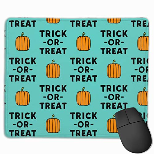 ck Teal - Halloween_95094 Mouse pad Custom Gaming Mousepad Nonslip Rubber Backing 9.8