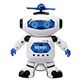 Best Toys For A 2 Year Old Boys - ANG Dancing Naughty Robot with 3D Flashing Lights Review