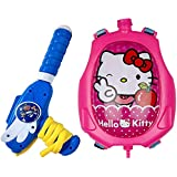 Nyaara Kitty Holi Pressure Water Gun Pichkari Tank Backpack 2 Litre, Assorted