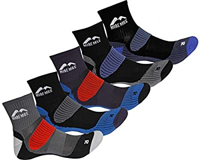 More Mile Trail Running Cheviot Sock Unisex (5-pack)