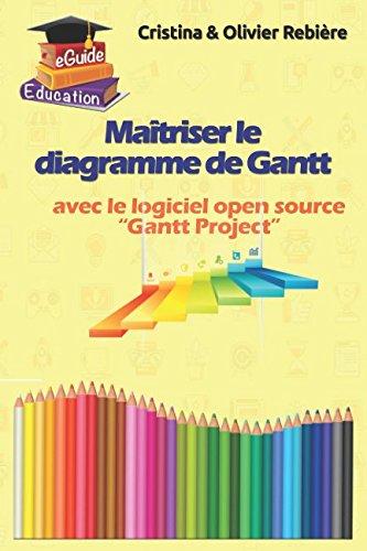 Maîtriser le diagramme de Gantt: Comprendre et utiliser efficacement le logiciel open source: Gantt Project par Olivier Rebière