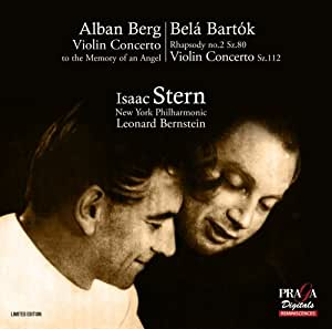 Berg - Bartok : Concertos pour violon