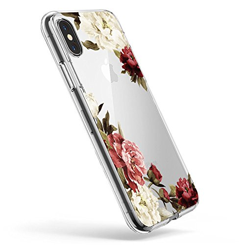 Pacyer Case kompatibel mit iPhone X XS Hülle Silikon Ultra dünn Transparent Handyhülle Rückschale TPU iPhone X XS Schutzhülle für Apple iPhone X Case Cover