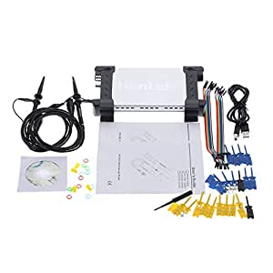 Hantek 6022BL PC Based USB Digital Storage Oscilloscope Generator 20MHz Bandwidth 16CH Logic Analyzer 48MSa/s