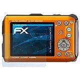 atFoliX Displayschutzfolie für Panasonic Lumix DMC-FT4 Schutzfolie - 3 x FX-Clear kristallklare Folie