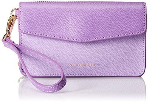 Vera Bradley Smartphone Wristlet 2.0 Wallet, Violett (Fliederfarben), Einheitsgröße - Bradley Iphone Vera Wallet 6 Case