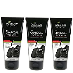 OXYGLOW CHARCOAL FACE WASH (PACK OF 3)