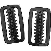 Baoblaze Premium Hebillas para Cinturón de Deporte Acuático de Buceo Natación Hecho de Plástico Color Seleccionable - Negro