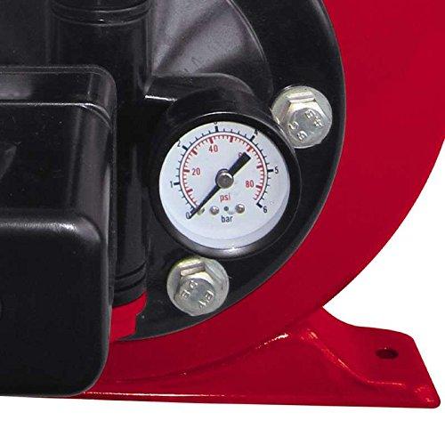 Einhell Hauswasserwerk GC-WW 6538 (650 W, 3800 l/h Fördermenge, max. Förderdruck 3,6 bar, Druckschalter, Manometer, 20 l Behälter) - 3