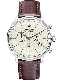 Junkers Herren-Armbanduhr Chronograph Quarz Leder 60885